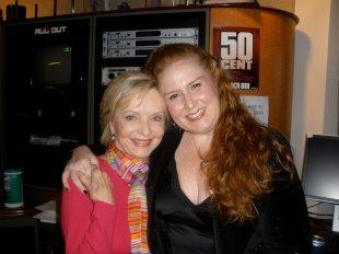 Julie James, Florence Henderson @Sirius XM Radio