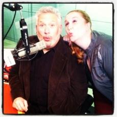 Julie James, Harvey Fierstein @Sirius XM Radio