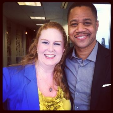 Julie James, Cuba Gooding Jr. @Sirius XM Radio