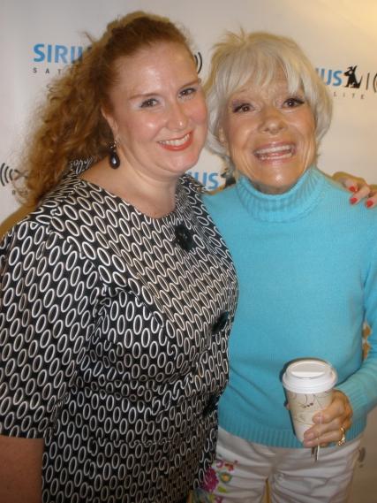 Julie James, Carol Channing @Sirius XM Radio
